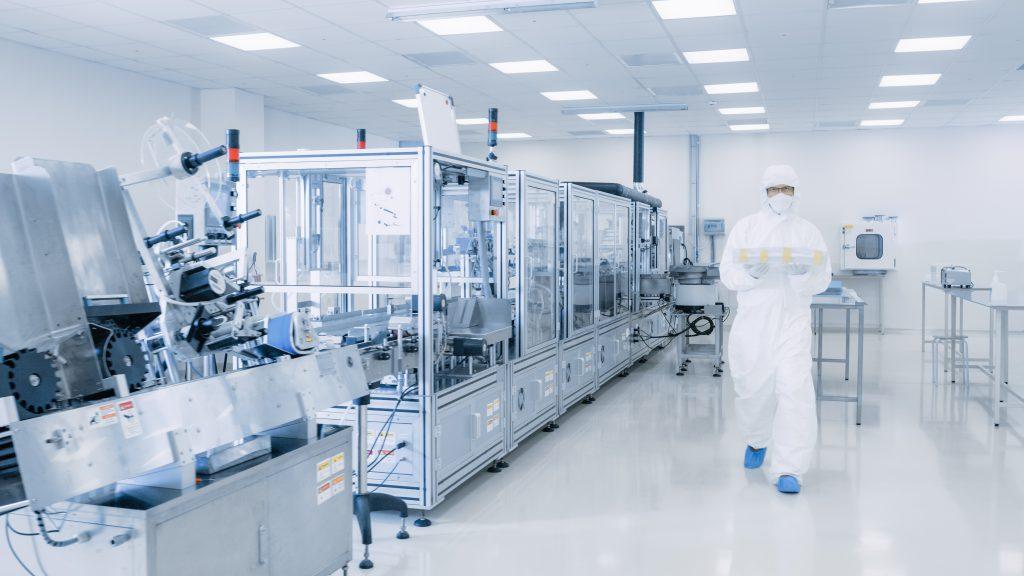linia produkcji farmaceutyków